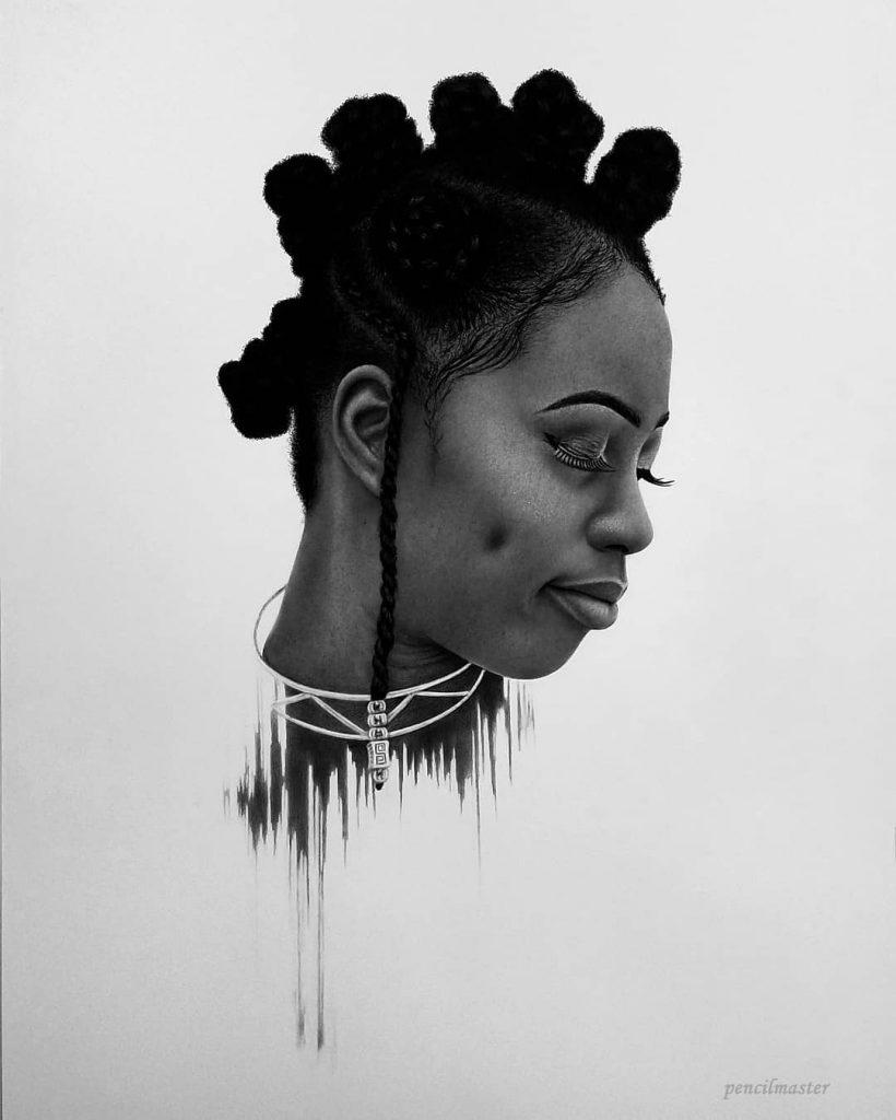 Ilustraciones realistas en blanco y negro 1