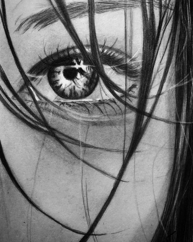 Ilustraciones realistas en blanco y negro 5