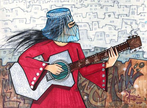 Arte, cultura y creatividad de Shamsia Hassani 5